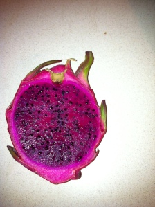 Dragon fruit interior