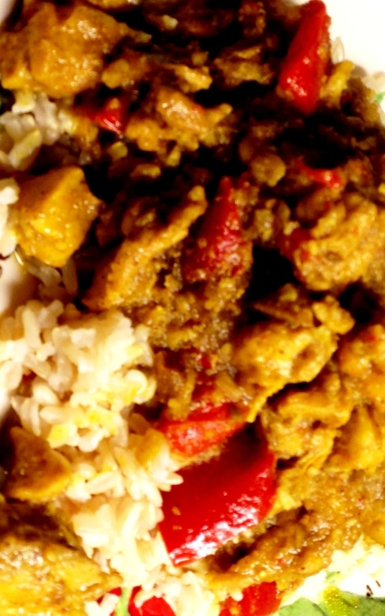 Curried coconut chicken2