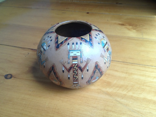 Navaho Medicine Bowl