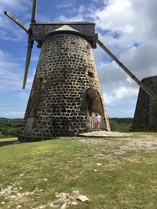 Sugar mill at Betty's Hope